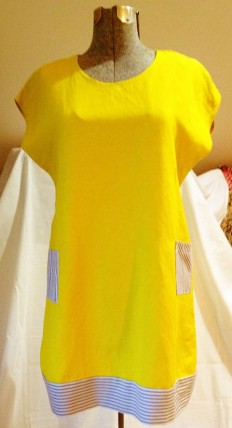 yellow dress finished front 1