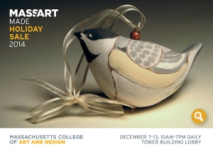 Massart Made Postcard